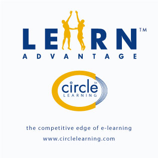 Circle LEARN DVD Sticker