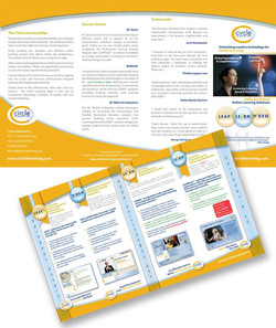 Circle Learning Tri-Fold Brochure
