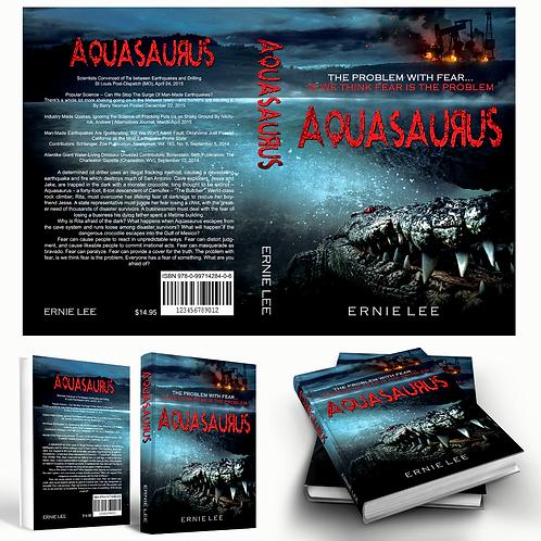 """AQUASAURUS (Mass Mkt Paperback) 5x8"""""""