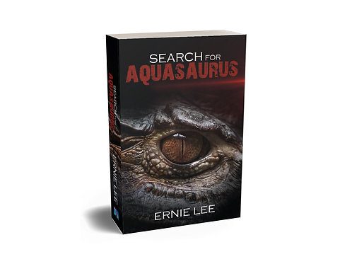 copy of Search for Aquasaurus - Hard cover