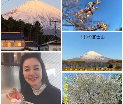 2021年3月26日(水)の富士山🗻