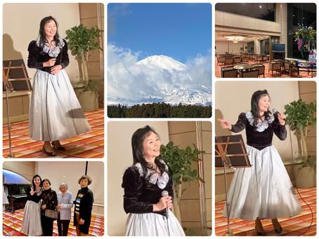 1月14日 ホテルハートピア熱海 ロビーコンサート