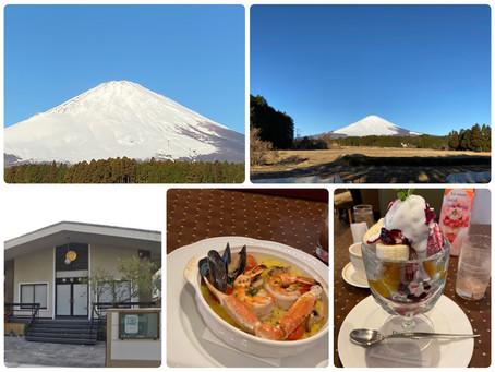 2月11日の富士山とライブ会場探索