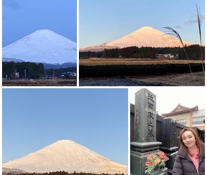 2021年1月25日(月)真っ白な富士山🗻
