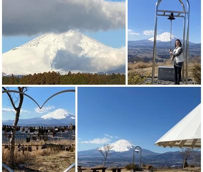 2021年1月31日(日)足柄峠からの富士山🗻