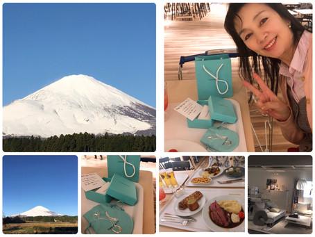 11月30日の富士山と娘からのサプライズ