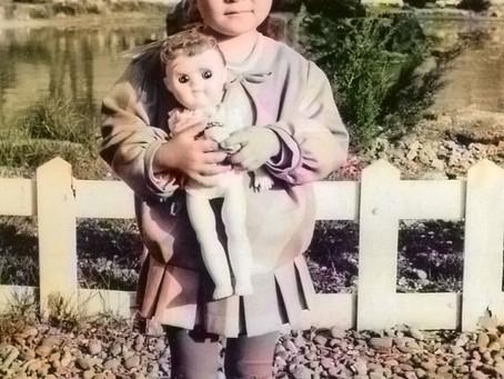 子どもの頃の写真投稿バトン