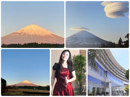 12月12日の富士山とロビーコンサートのお知らせ