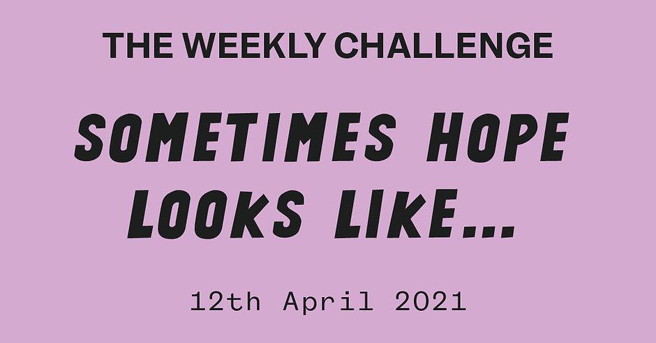 myraw.co.uk the weekly challenge