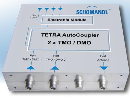 TETRA Multicouplers fra Schomandl