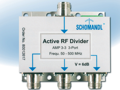 Indoor Power RF Divider fra Schomandl