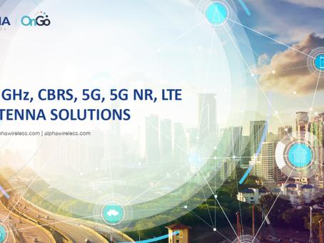 Alpha Wireless   Produkt katalog   3.5 GHz, CBRS, 5G NR, LTE ANTENNA SOLUTIONS