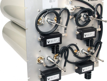 RF antenner og Cavity Combiners fra Amphenol Procom.