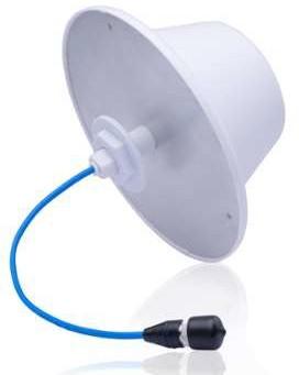 Indoor Omni Directional Antenna (Dome) | V-Pol 1-port 2/6 dBi | 698-960/1425-6000 2/6dBi | Kantenna