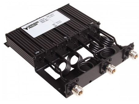 Duplex Filters DPF 2/6... 6-Cavity Duplexer for the 160 MHz Band