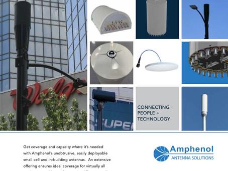 Basestasjon & small cell antenner fra Amphenol Antenna Solutions.