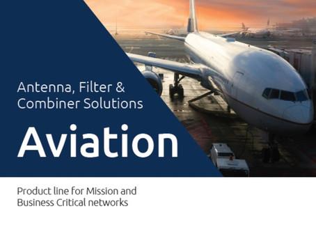Katalog fra Amphenol Procom | Antenna, Filter &Combiner Solutions | Aviation