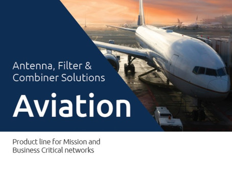 Katalog fra Amphenol Procom | Antenna, Filter &Combiner Solutions | Aviation