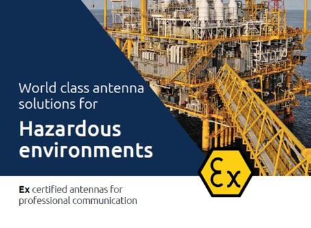 Katalog fra Amphenol Procom | Ex certified antennas for professional communication