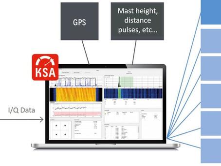 "Kathrein Broadcast har i samarbeid med PrecisionWave utviklet Kathrein Signal Analyzer ""KSA""."