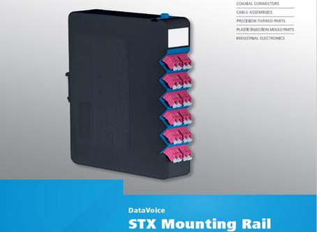 Telegärtner | Data Voice | STX Mounting Rail | Distributor Modular