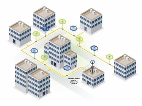 SOLiD | DAS System for kommersielle bygninger | Trådløse nettverk | kapasitet og dekning