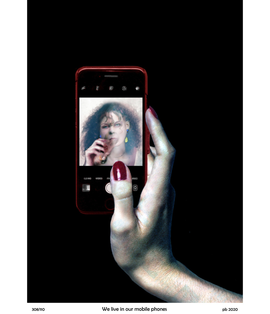 We live in our mobile phones