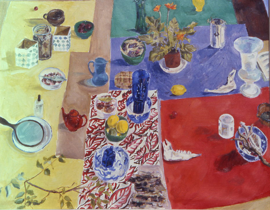 Still Life with 14 Objects