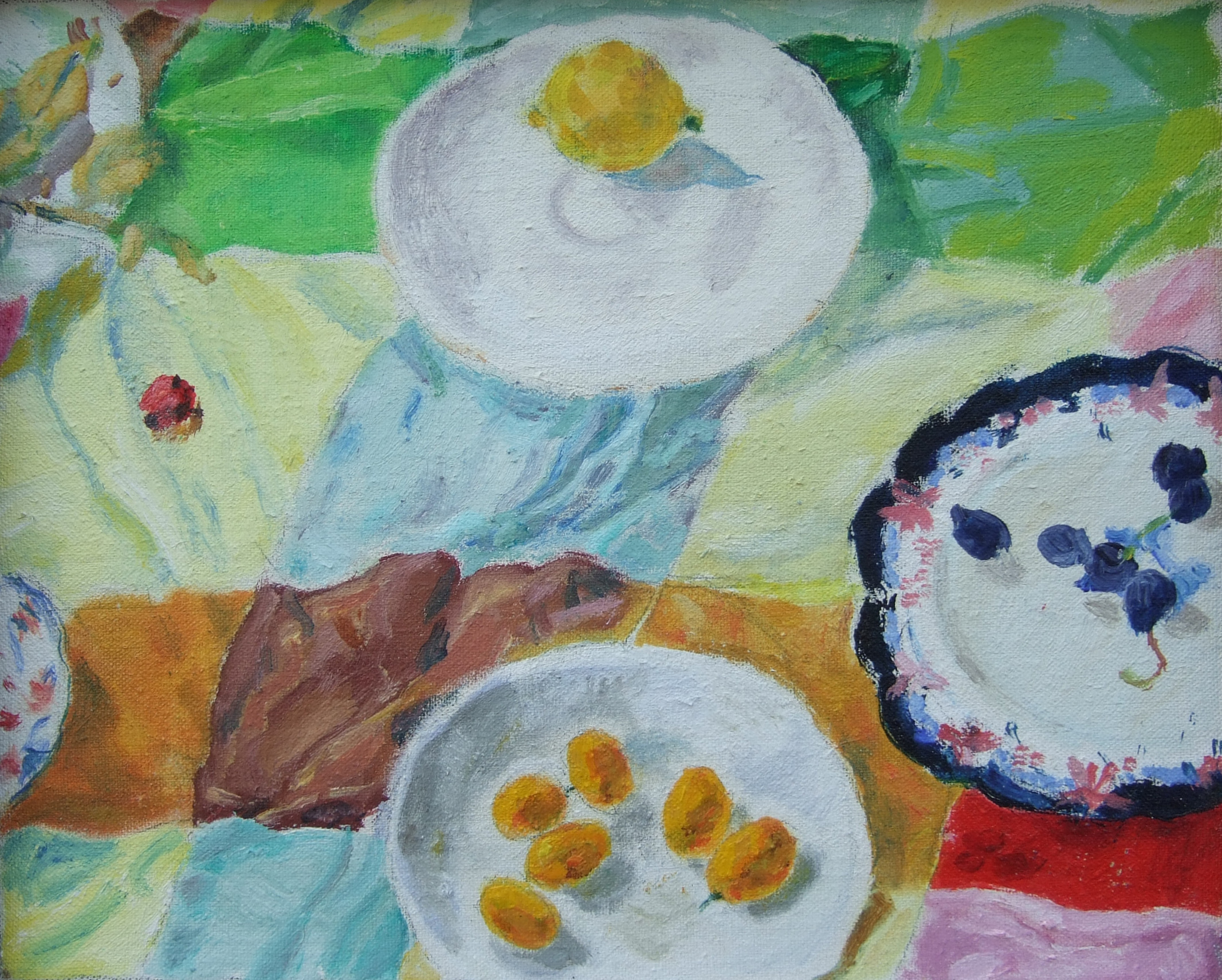 Small Still Life with Plates