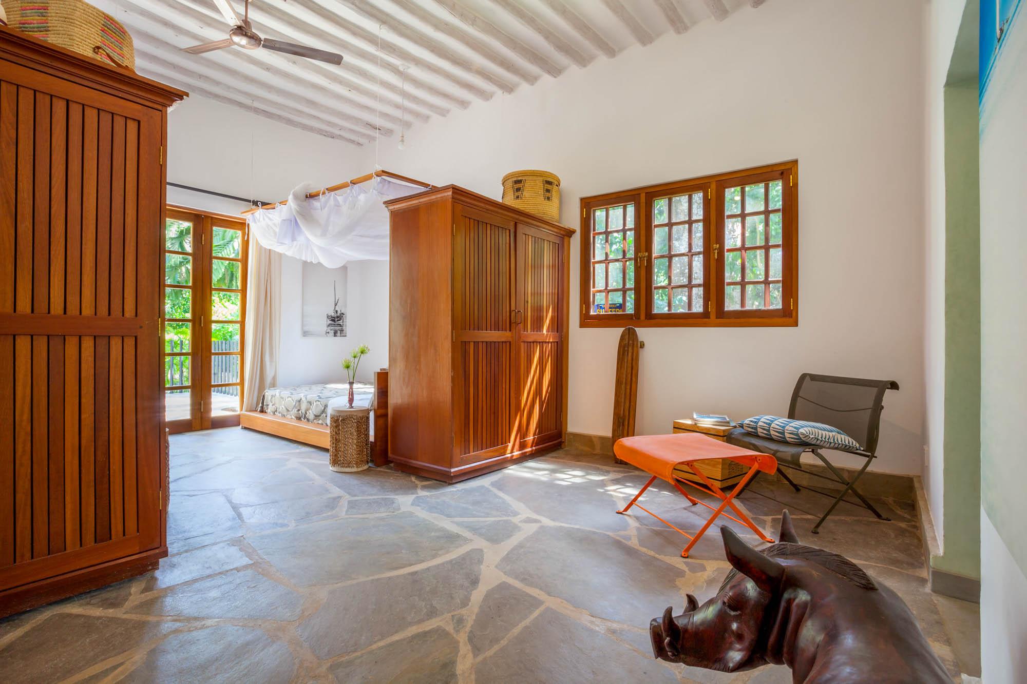 bedroom in main house