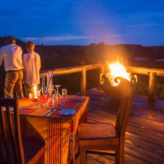 SerengetiMigrationCamp - Priavte Dining