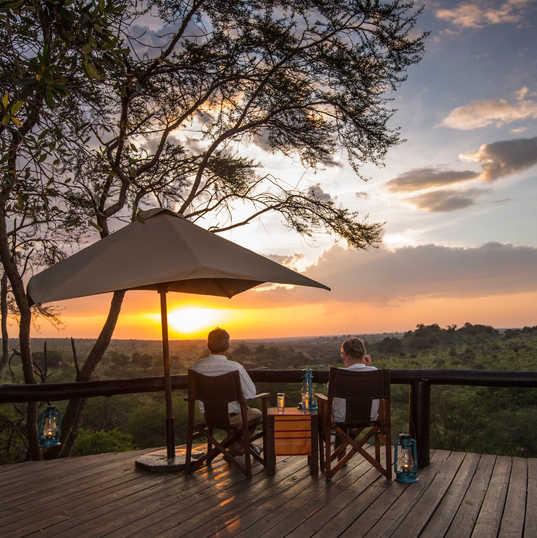 SerengetiMigrationCamp - Sunset Viewing