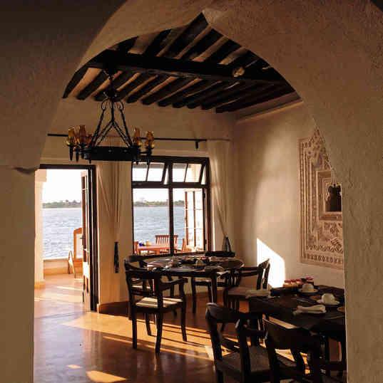 Peponi Hotel - The restaurant