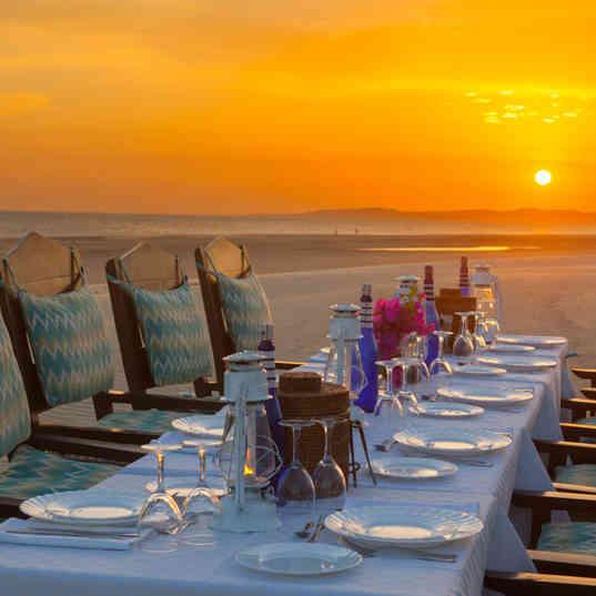 The Fort Of Shela - Sunset diner