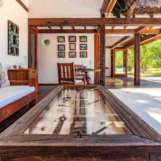 Azhari Beach Suite - The outdoor lounge