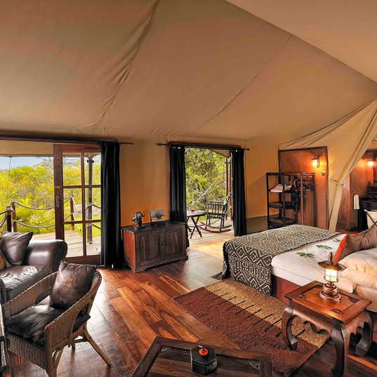SerengetiMigrationCamp - Tent Interior 2