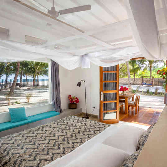 Marula House on the Beach - From the bedroom