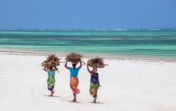 Local Ladies on the beach