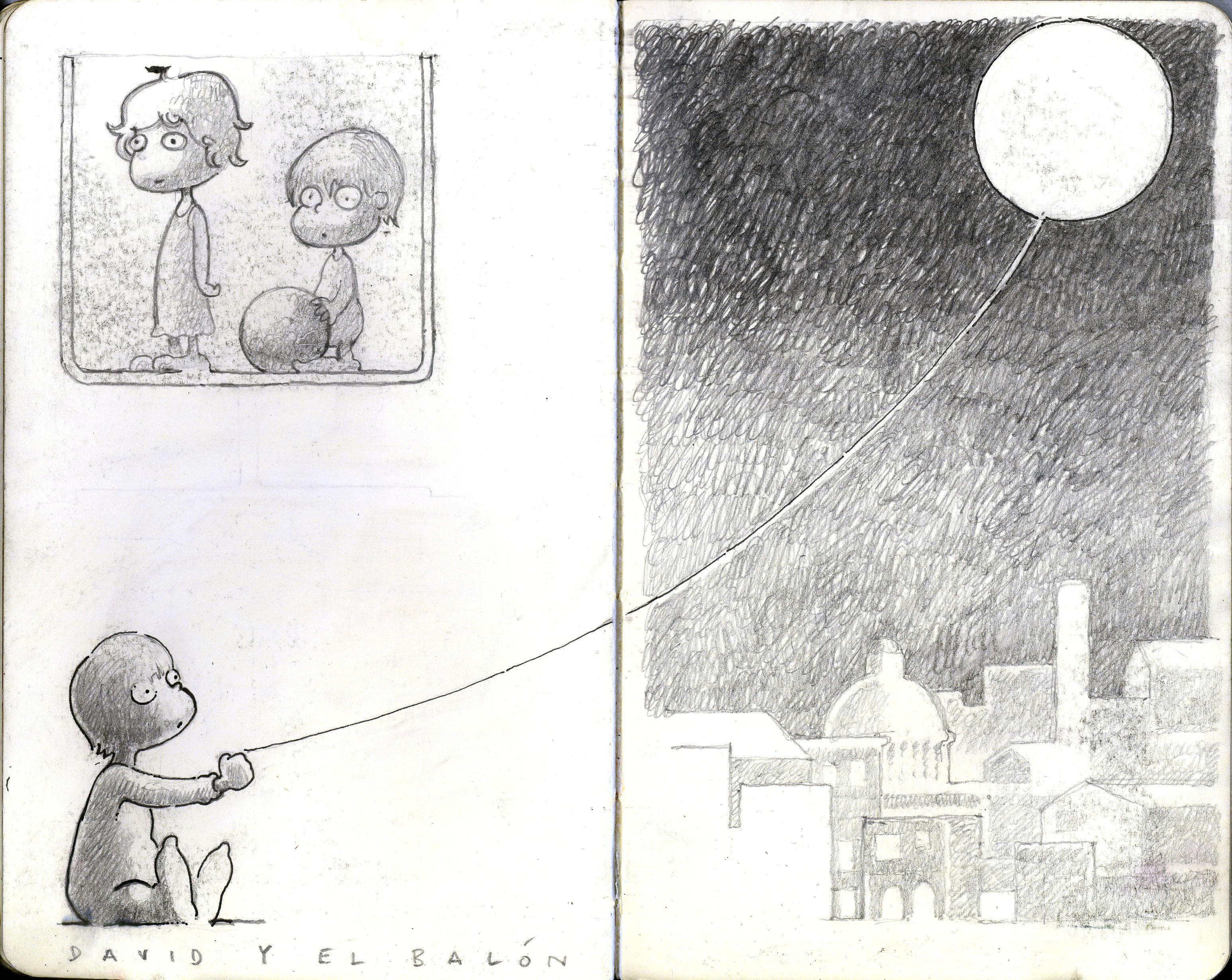 David+baloon