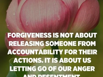 The Struggle between Accountability and Forgiveness