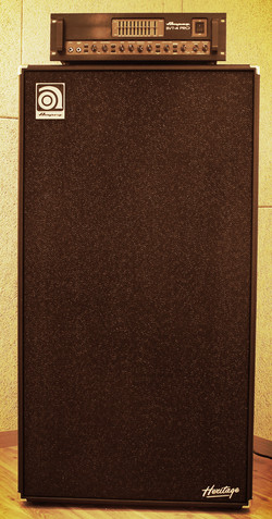 A room Bass amp