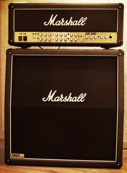 A room Guitar amp