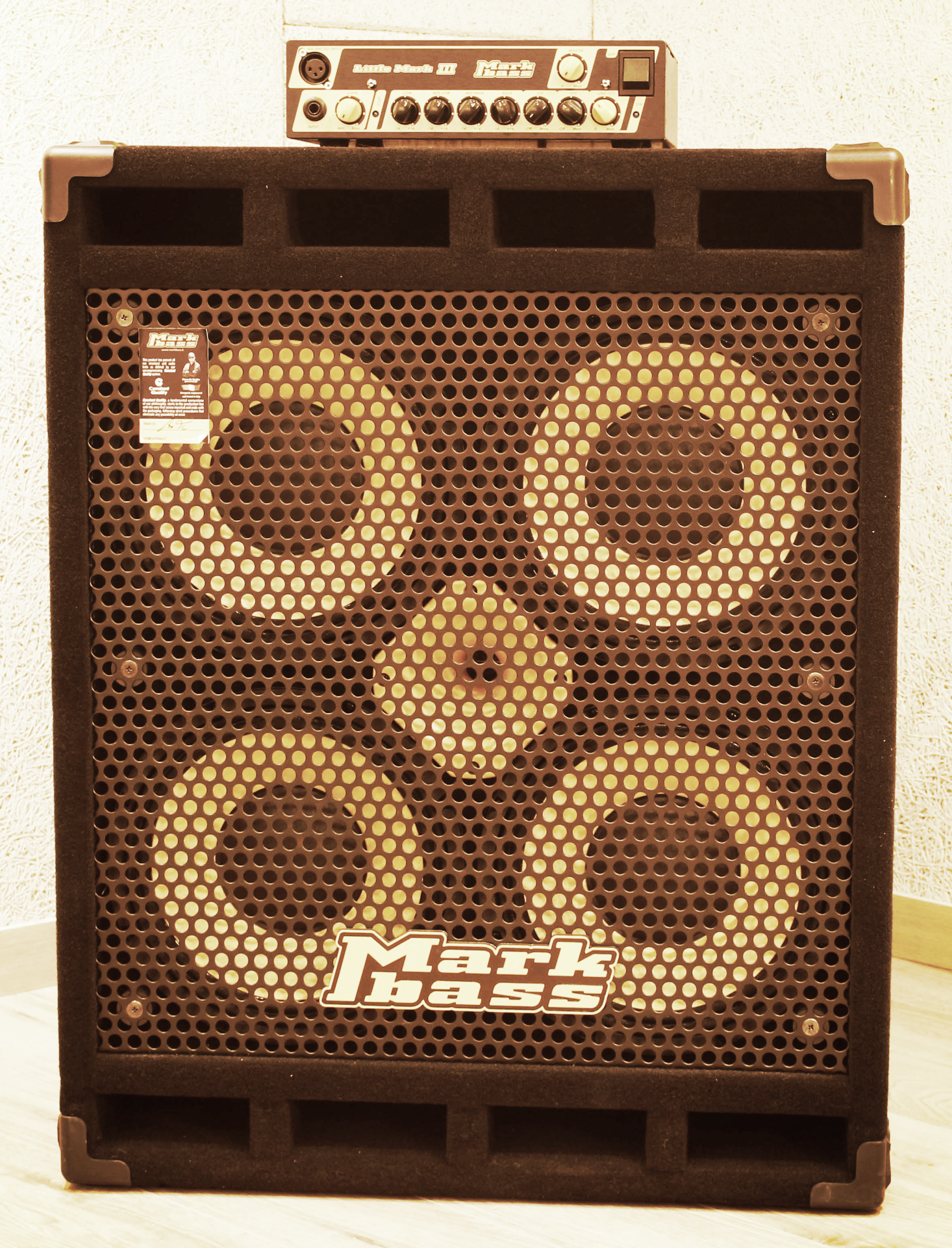 C room Bass amp