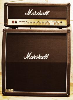 C room Guitar amp