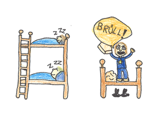 Alle Kinder gehen gern ins Bett. Ausser Tim – der findet das schlimm.