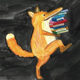 Der Fuchs geht in die Bibliothek