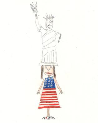 Freedom wohnt mit ihrer Familie in New York. Ihr Urgrossvater war ein Indianer und ihr Grossvater lebt mit seinem Stamm noch in Tipis. In den Sommerferien darf Freedom bei ihm wohnen. Ihr Lieblingsplatz in der Stadt ist der «Central Park». Er sieht in jeder Jahreszeit ein bisschen anders aus: Im Winter kann man schlittschuhlaufen, im Frühling mit dem Ruderboot fahren, im Sommer ein Picknick machen und im Herbst kann man die ganz bunten Blätter sammeln.
