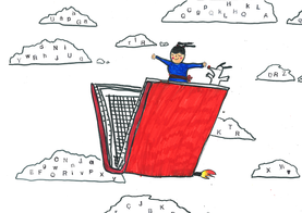 Fliegendes Buch