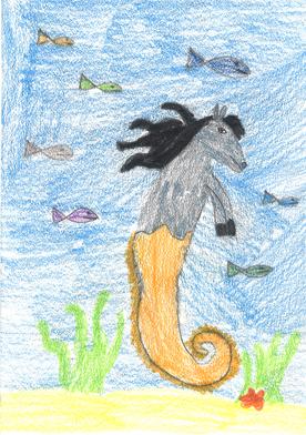 Das Seepferdchen verspeist Haie und kann springen wie ein Delfin.