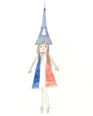 Paris geht an ihrem Geburtstag zum Essen ins Restaurant ganz oben auf dem Eiffelturm und geniesst dann die Aussicht über die ganze Stadt. Ein Baguette mit Butter und Salz ist ihr absolutes Lieblingsessen: Sie hat bis jetzt in ihrem Leben vielleicht ungefähr 500 Baguettes gegessen, aber sie ist trotzdem schlank und sportlich. Ihr grosser Traum ist die Ballettschule der Opera National zu besuchen um Ballerina zu werden.
